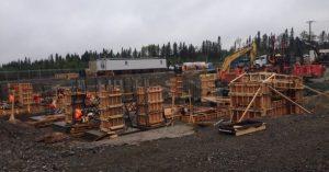 poste hydro quebec arpentage construction
