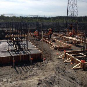 poste hydro quebec construction