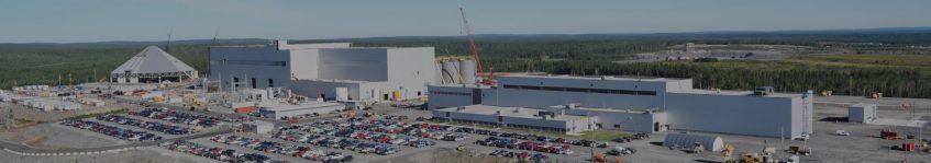 Construction de mine